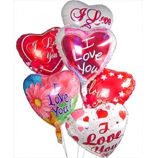 I Love You-helium foil balloons