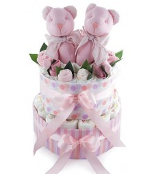 Princess-Nappy cake