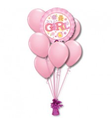Girl balloon bouquet