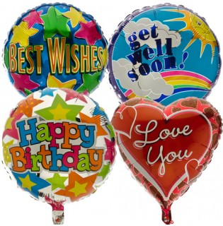 Helium foil for special occassions