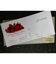 Gift Certificate by DMF