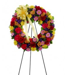 Wreath on a Stand