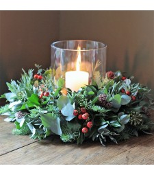 Xmas Table Wreath 1